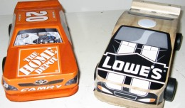 Home Depot vs Lowes Projects Race Cars 1