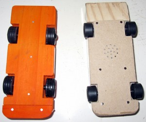 Rainy day project race cars